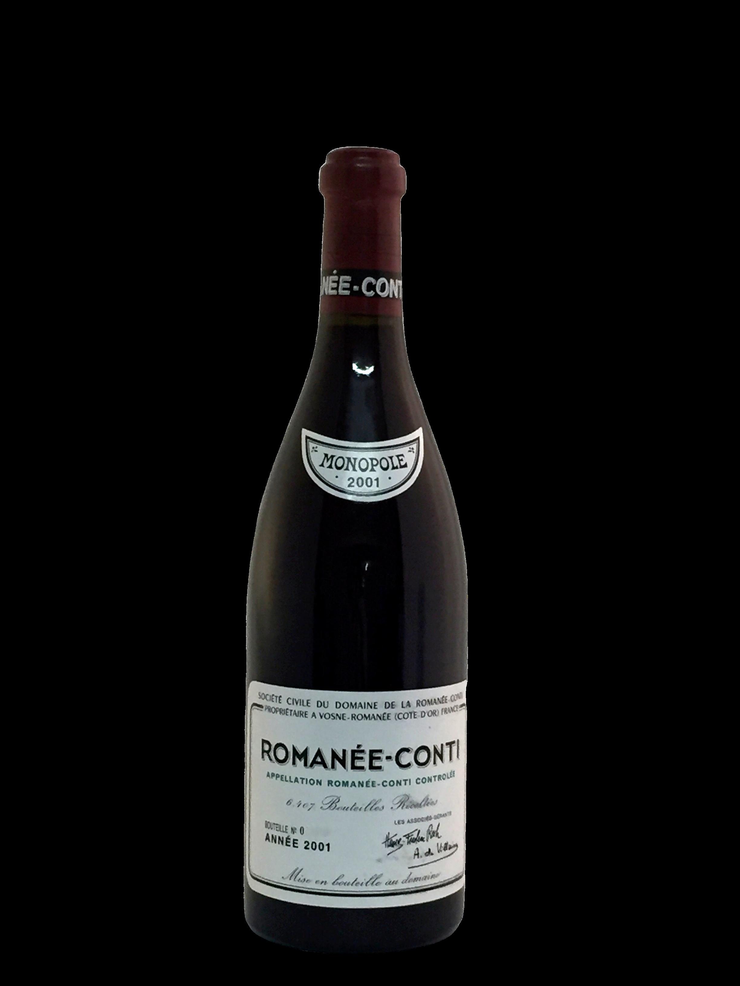 Domaine de la Romanée-Conti (DRC) – Romanée-Conti 2001