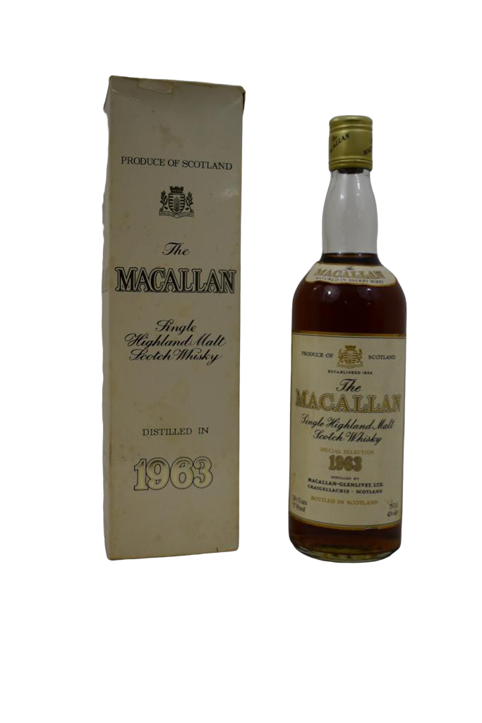 Whisky MACALLAN Single Highland Malt 1963