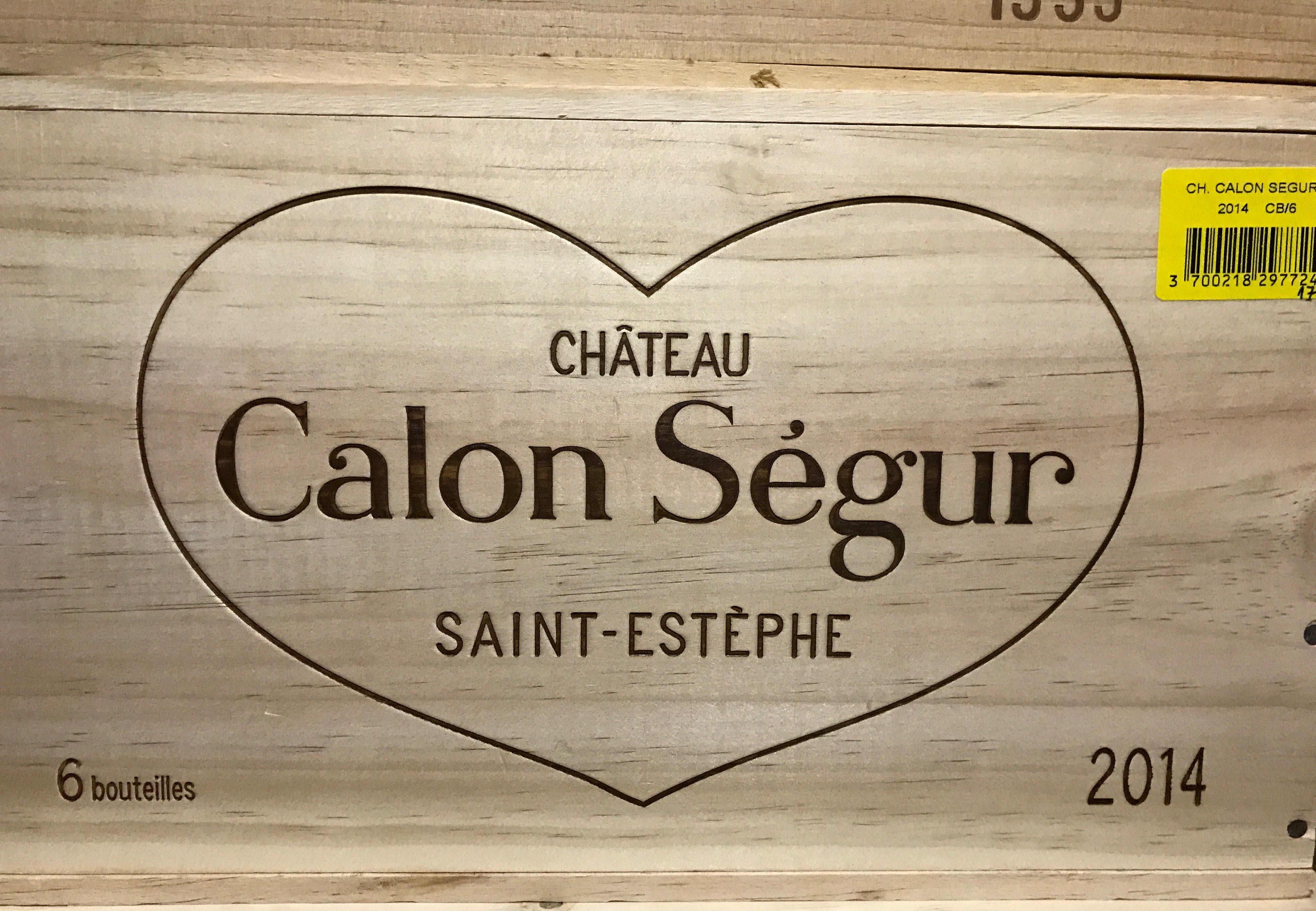 Château Calon-Ségur 2014 (CBO 6)