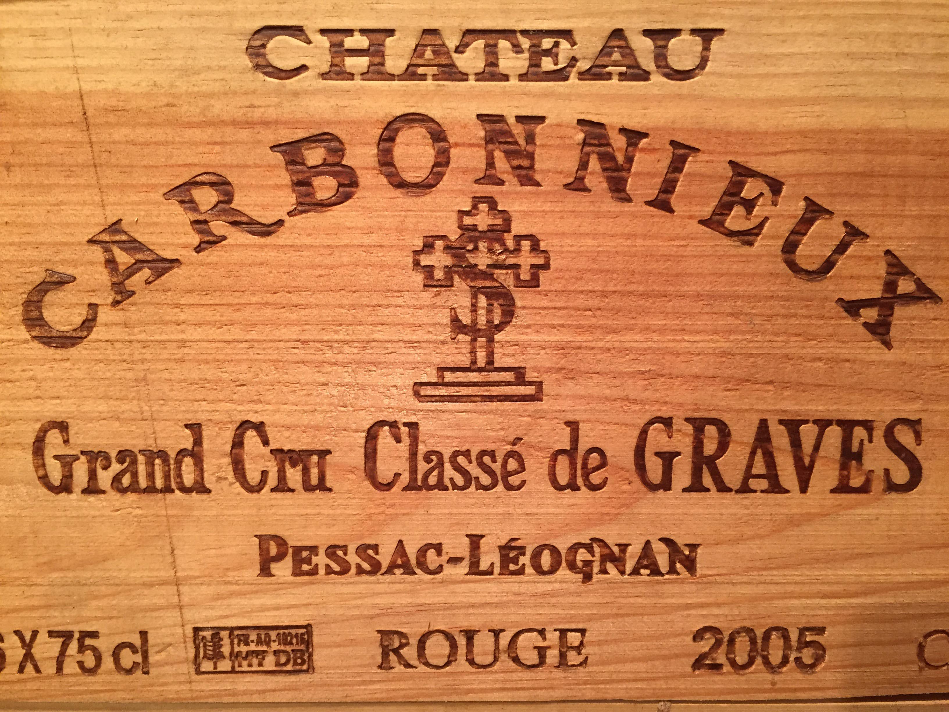 Château Carbonnieux 2005