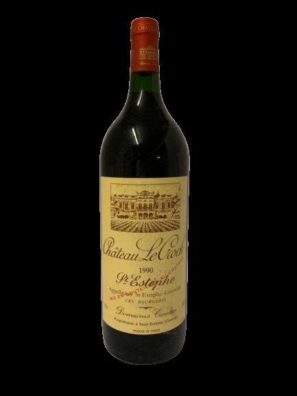 Château Le Crock 1990 (Magnum – CBO 6)