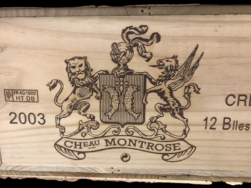 Château Montrose 2003 (CBO 12)