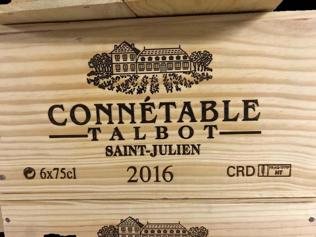 Château Talbot Connétable 2016 (CBO 6)
