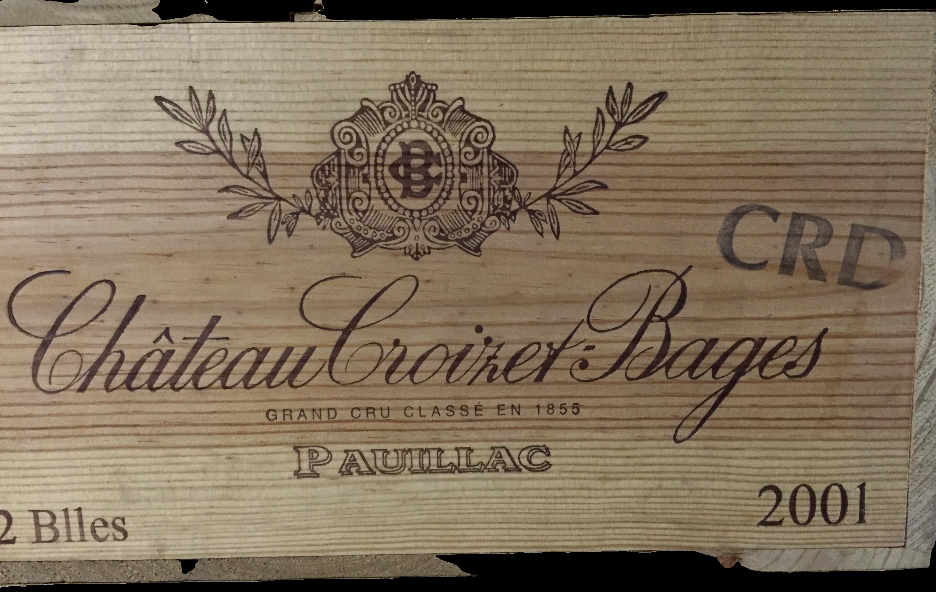 Château Croizet-Bages 2001