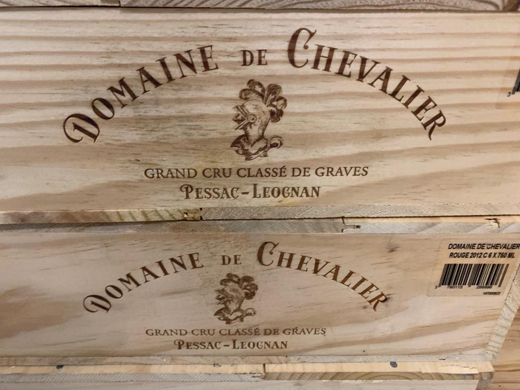 Domaine De Chevalier rouge 2012 (CBO 6)