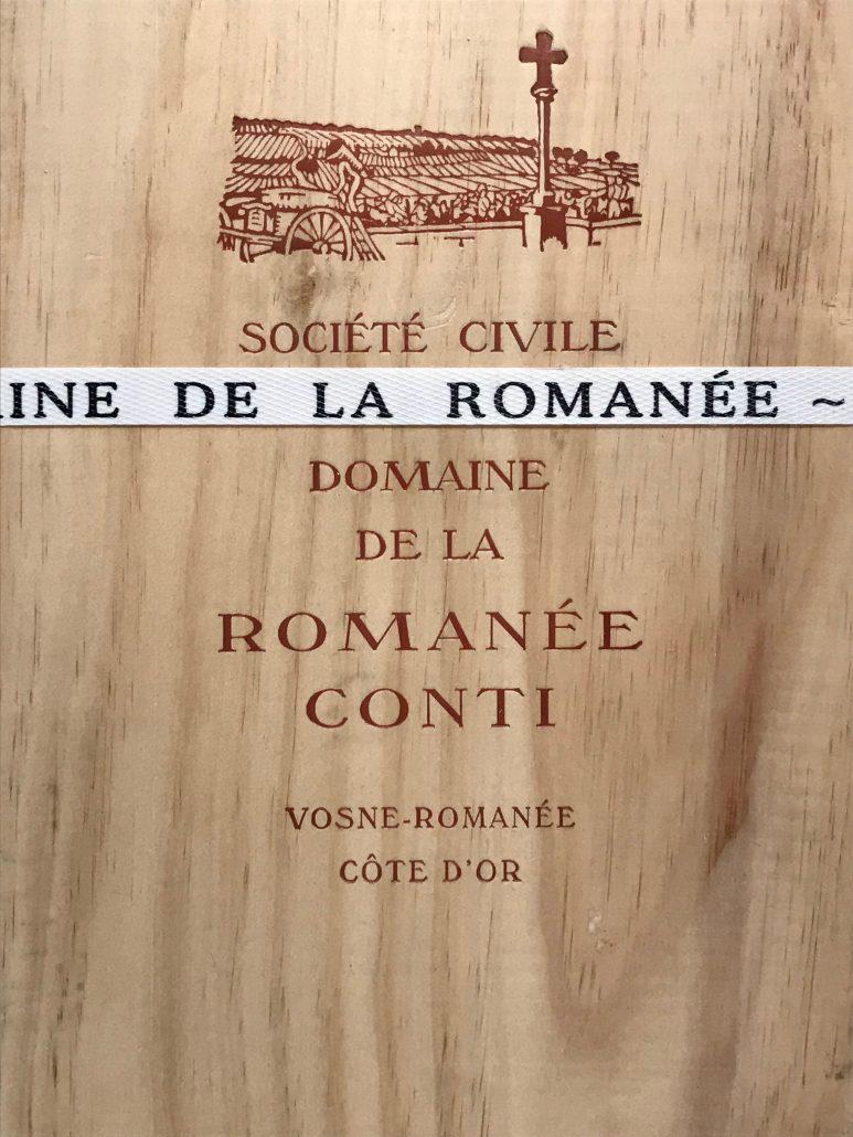 Domaine de la Romanée-Conti (DRC) – Assortiment 2015 – 6 bouteilles (1X RC / 1X M / 1X E / 1X G-E / 2X RSV)