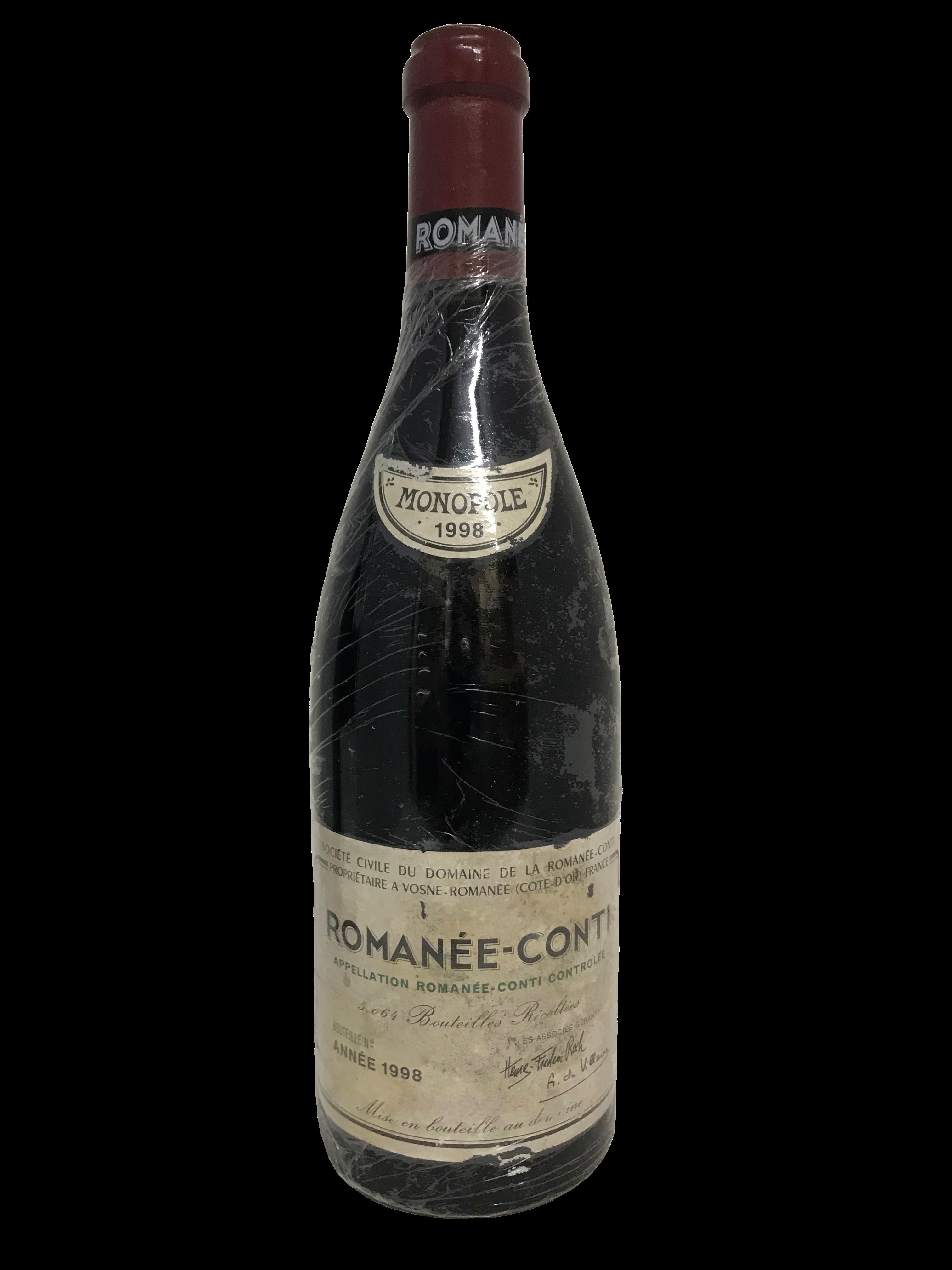 Domaine de la Romanée-Conti (DRC) – Romanée-Conti 1998 (CBO1)