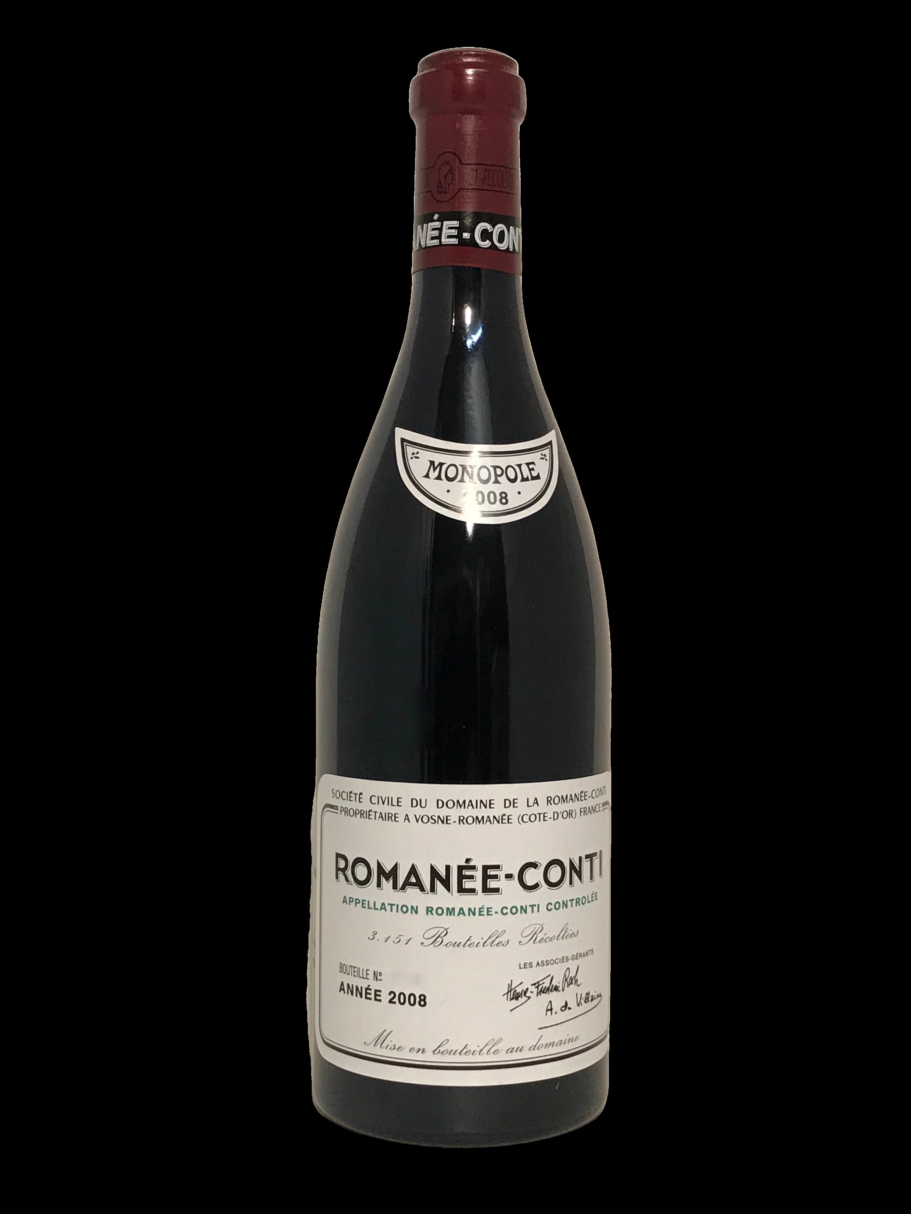 Domaine de la Romanée-Conti (DRC) – Romanée-Conti 2008