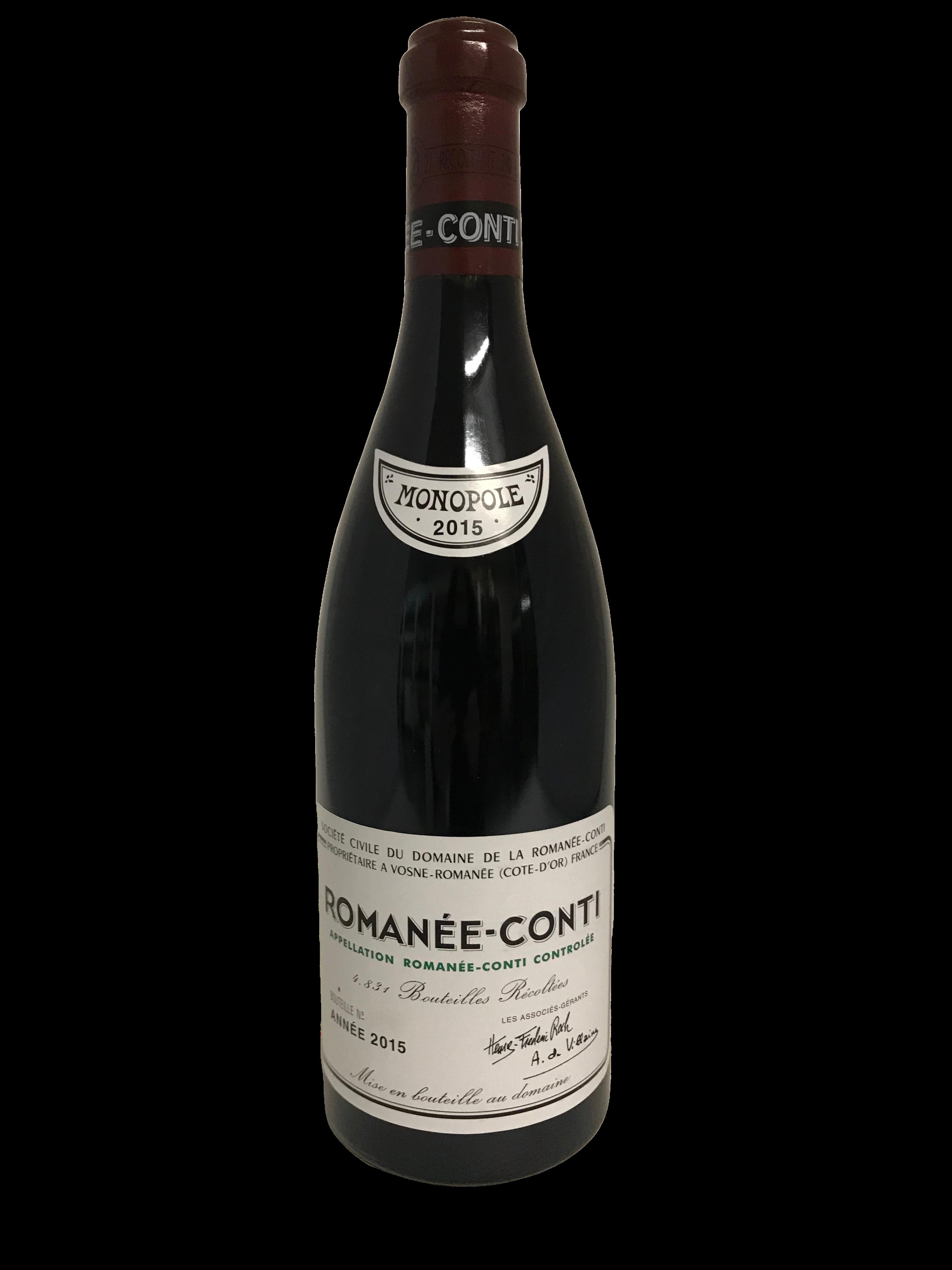 Domaine de la Romanée-Conti (DRC) – Romanée-Conti 2015
