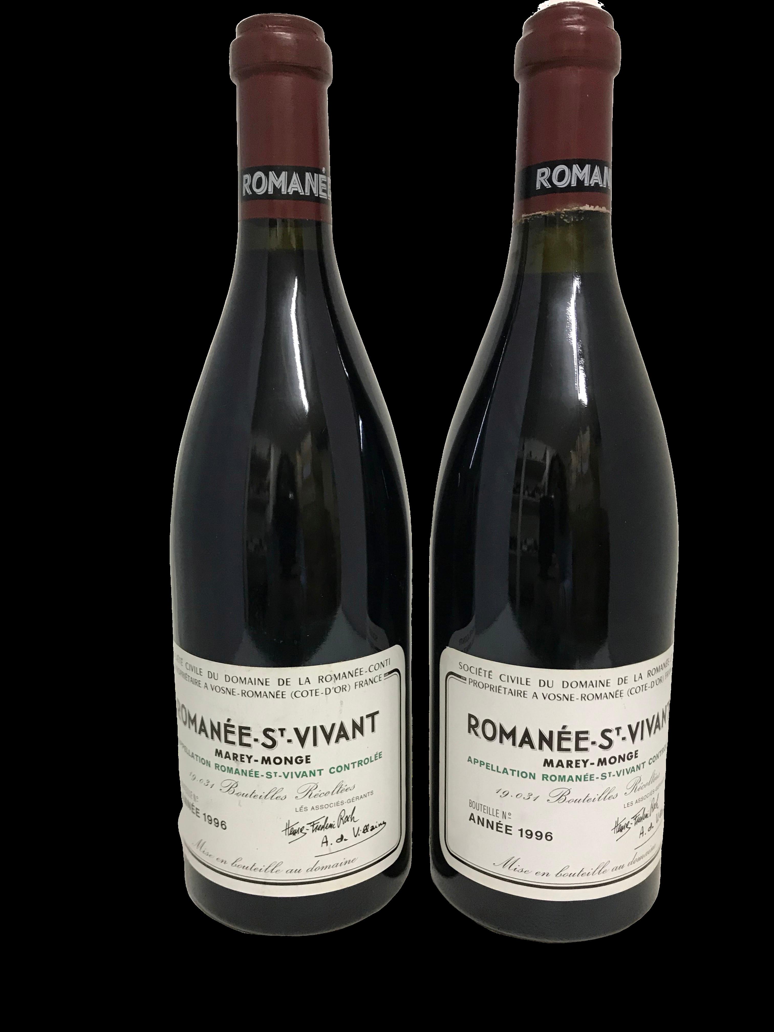 Domaine de la Romanée-Conti (DRC) – Romanée-Saint-Vivant 1996