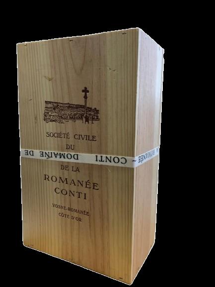 Domaine de la Romanée-Conti (DRC) – Assortiment 2015 – CBO 2 bouteilles (1X LT / 1X RSV)