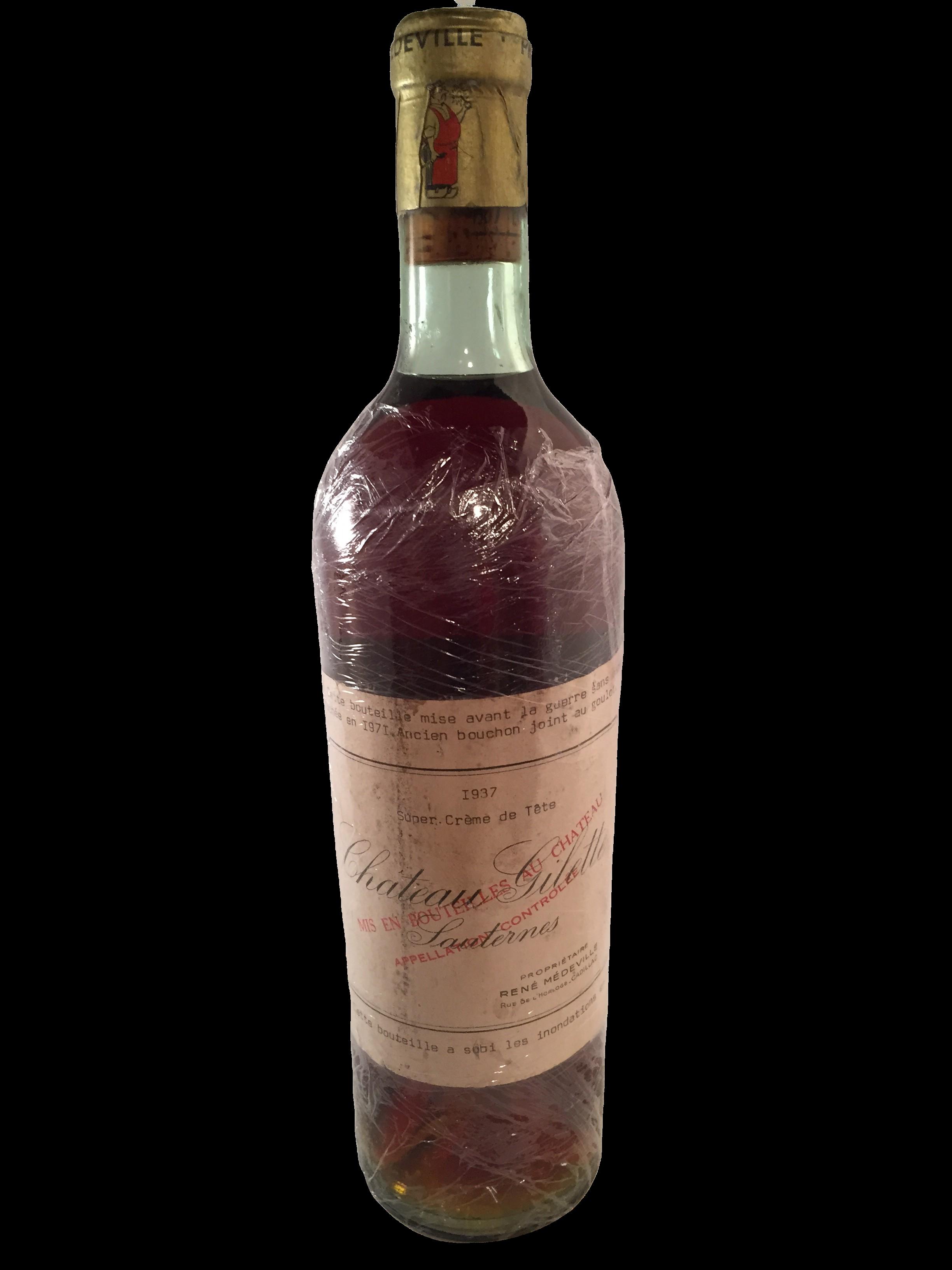 Château Gilette Crème de Tête 1937