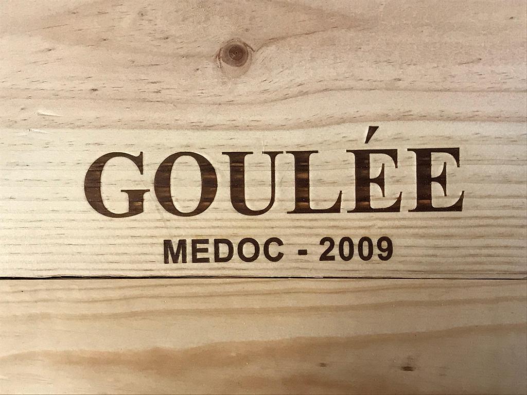 Goulée by Cos D'Estournel 2009 (CBO 6)