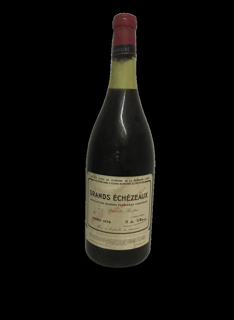 Domaine de la Romanée-Conti (DRC) – Grands-Echezeaux 1970 (Magnum)