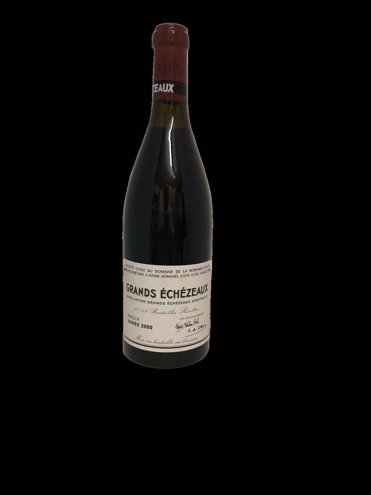 Domaine de la Romanée-Conti (DRC) – Grands-Echezeaux 2000