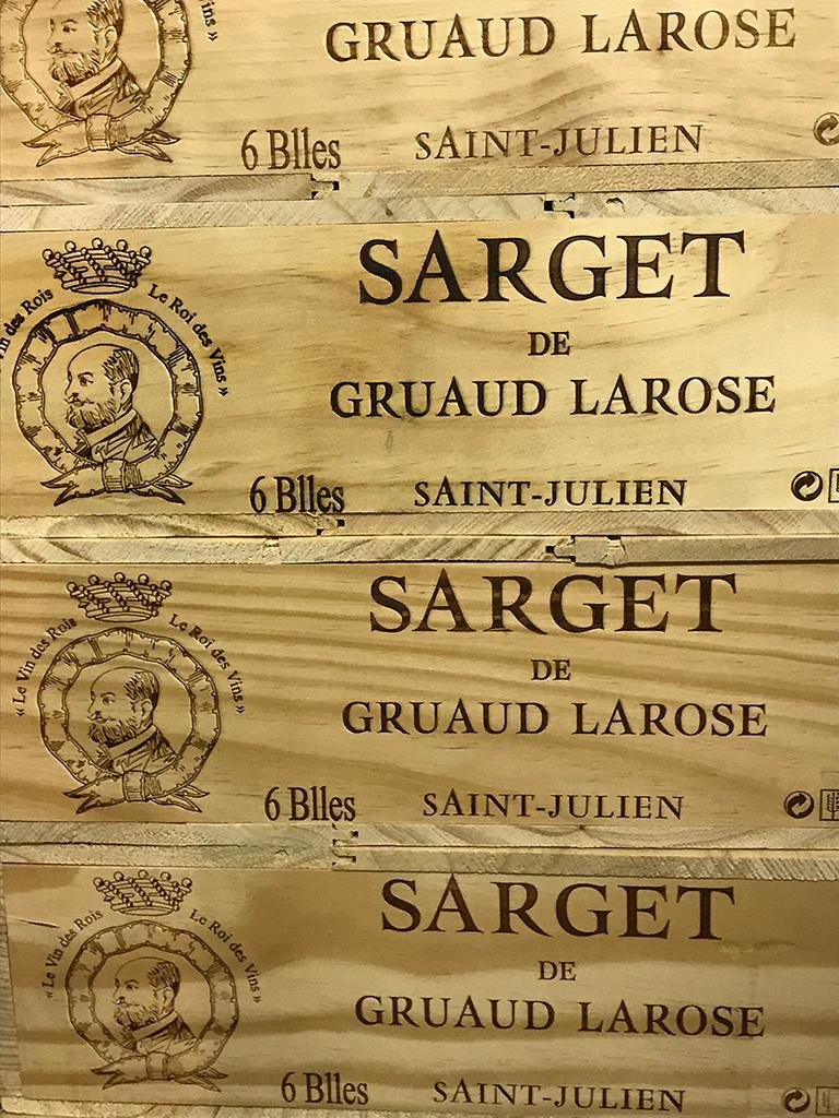 Sarget de Château Gruaud Larose 2015 (CBO 6)