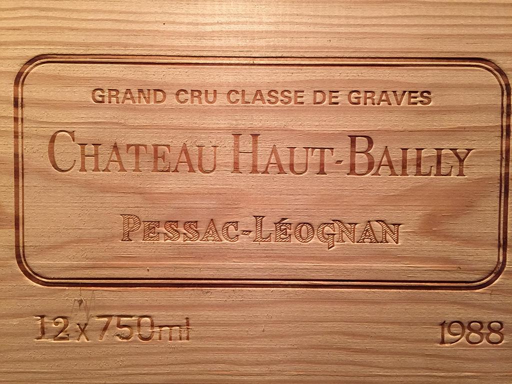 Château Haut-Bailly 1988 (CBO 12)