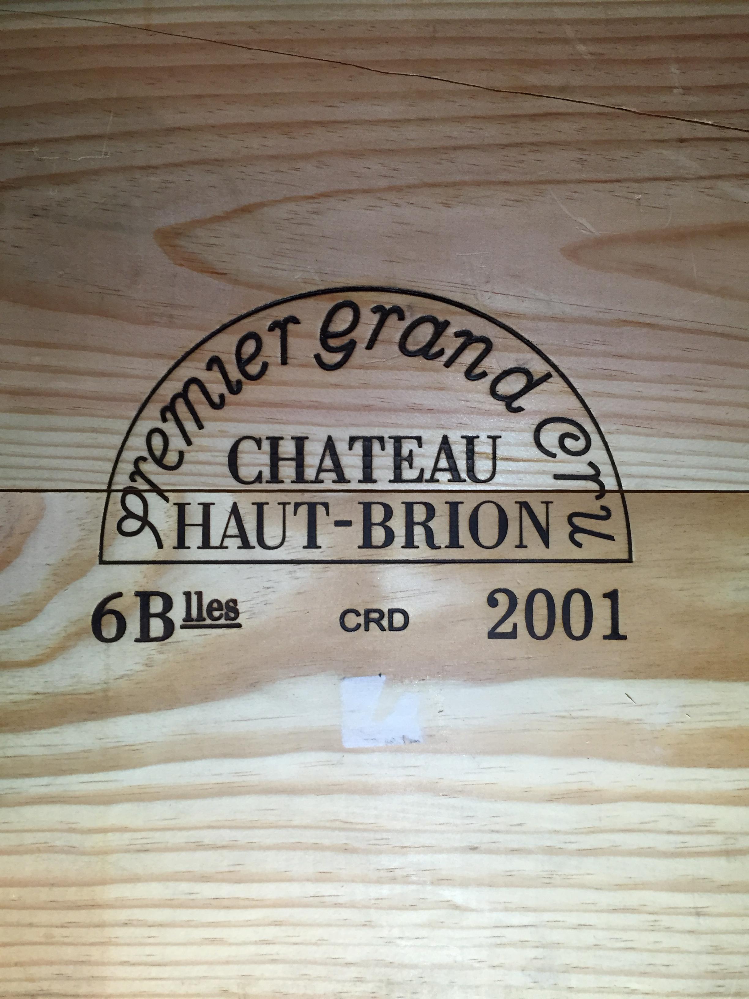Château Haut-Brion 2001 (CBO 6)