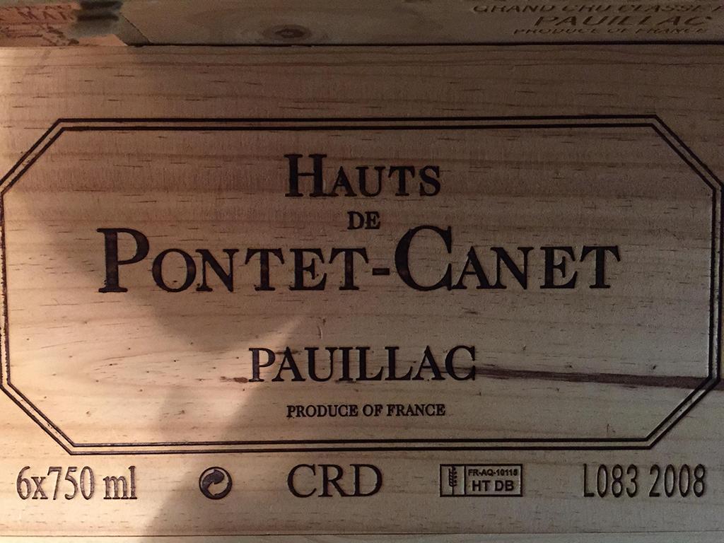Les Hauts de Château Pontet-Canet 2008 (CBO 6)