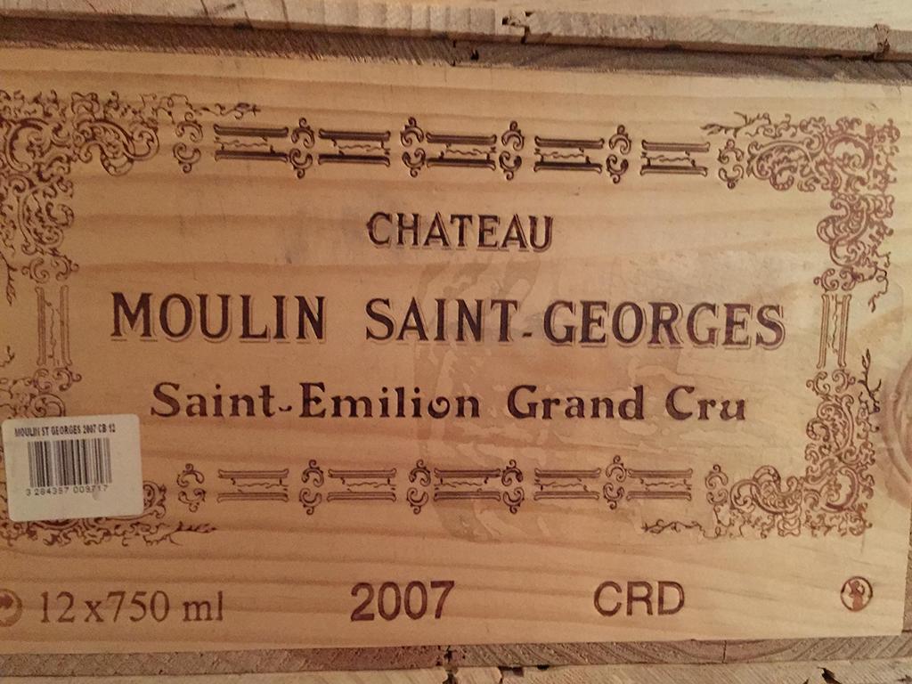 Château Moulin-Saint-Georges 2007 (CBO 12)