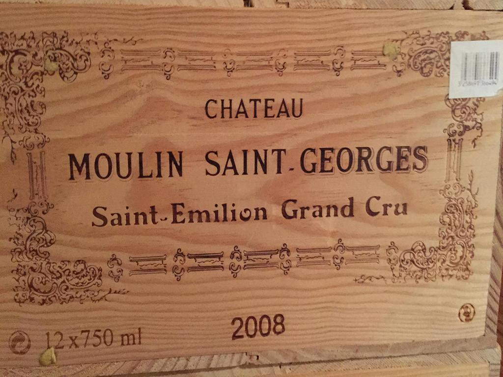 Château Moulin-Saint-Georges 2008 (CBO 12)