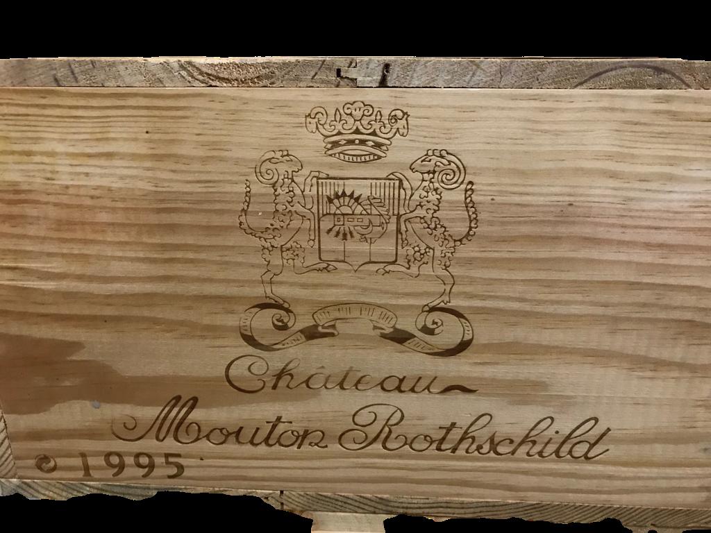 Château Mouton-Rothschild 1995 (CBO 12)