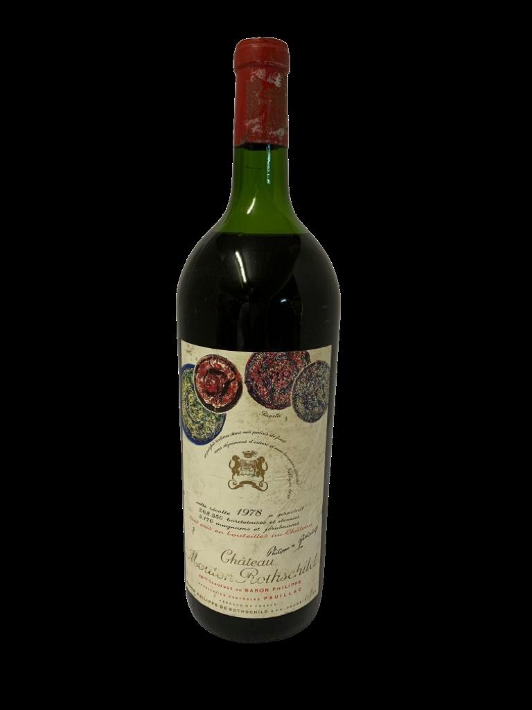 Château Mouton-Rothschild 1978 (Magnum)