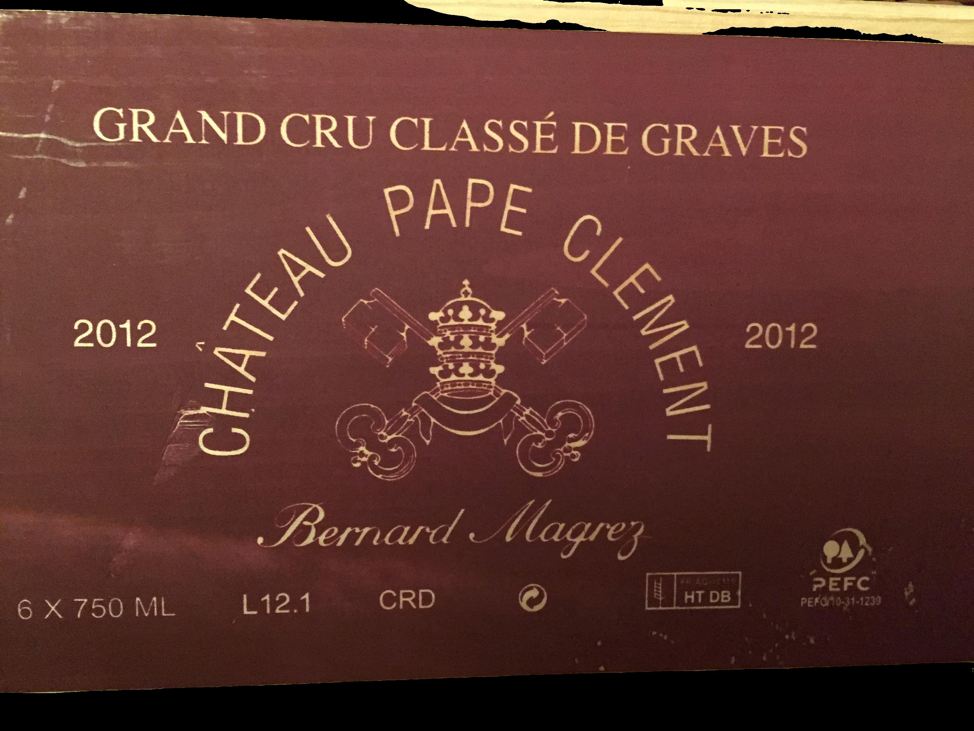 Château Pape Clément 2012 (CBO 6)