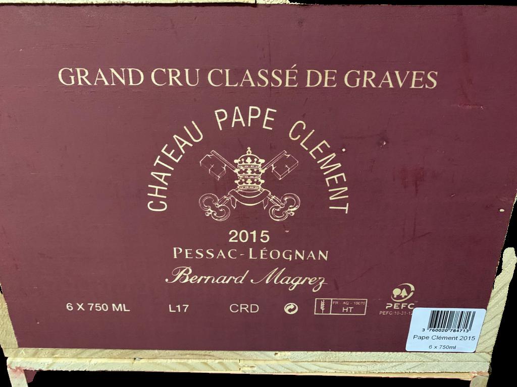 Château Pape Clément 2015 (CBO 6)