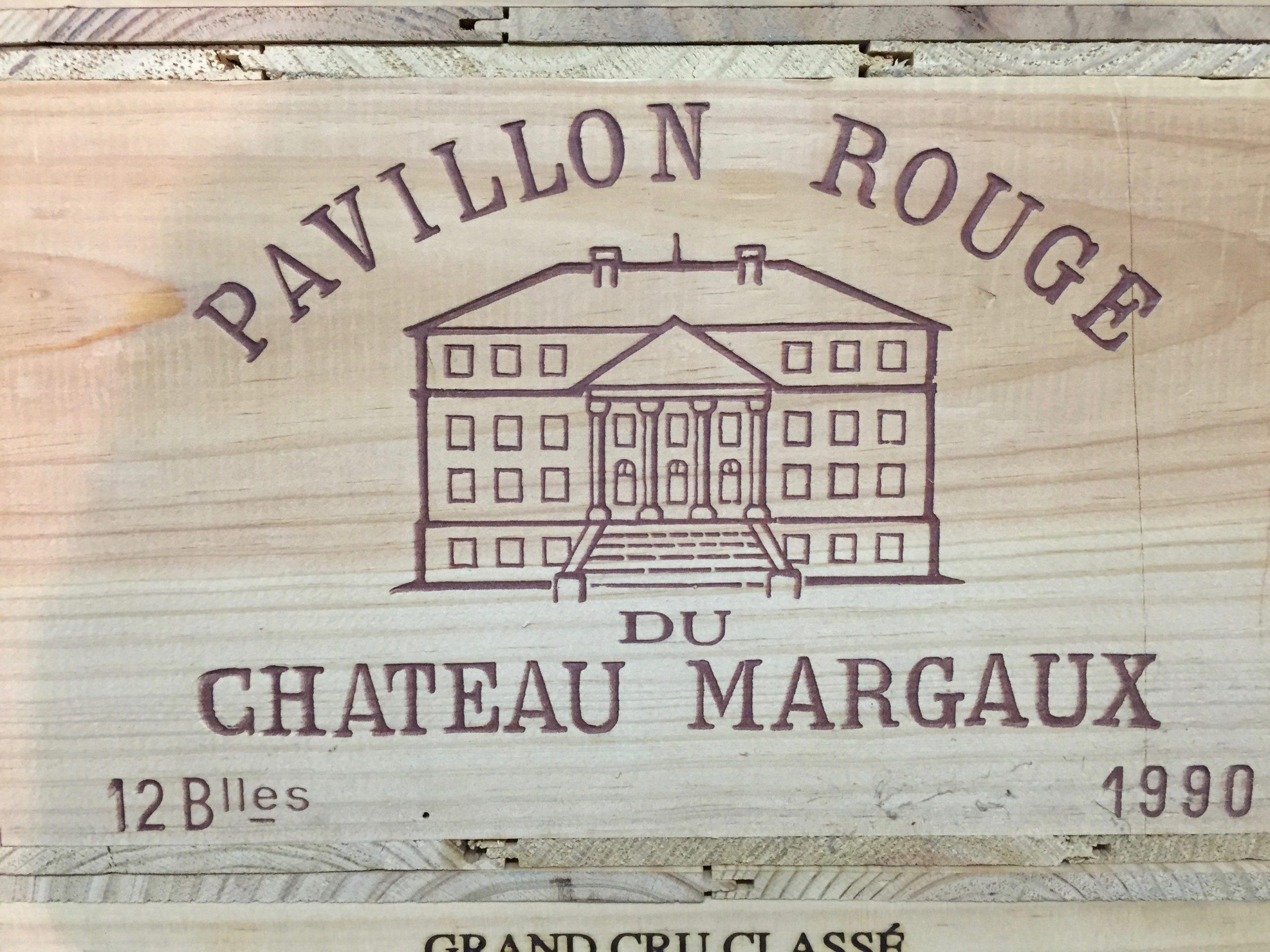 Château Margaux Pavillon rouge 1990 (CBO 12)