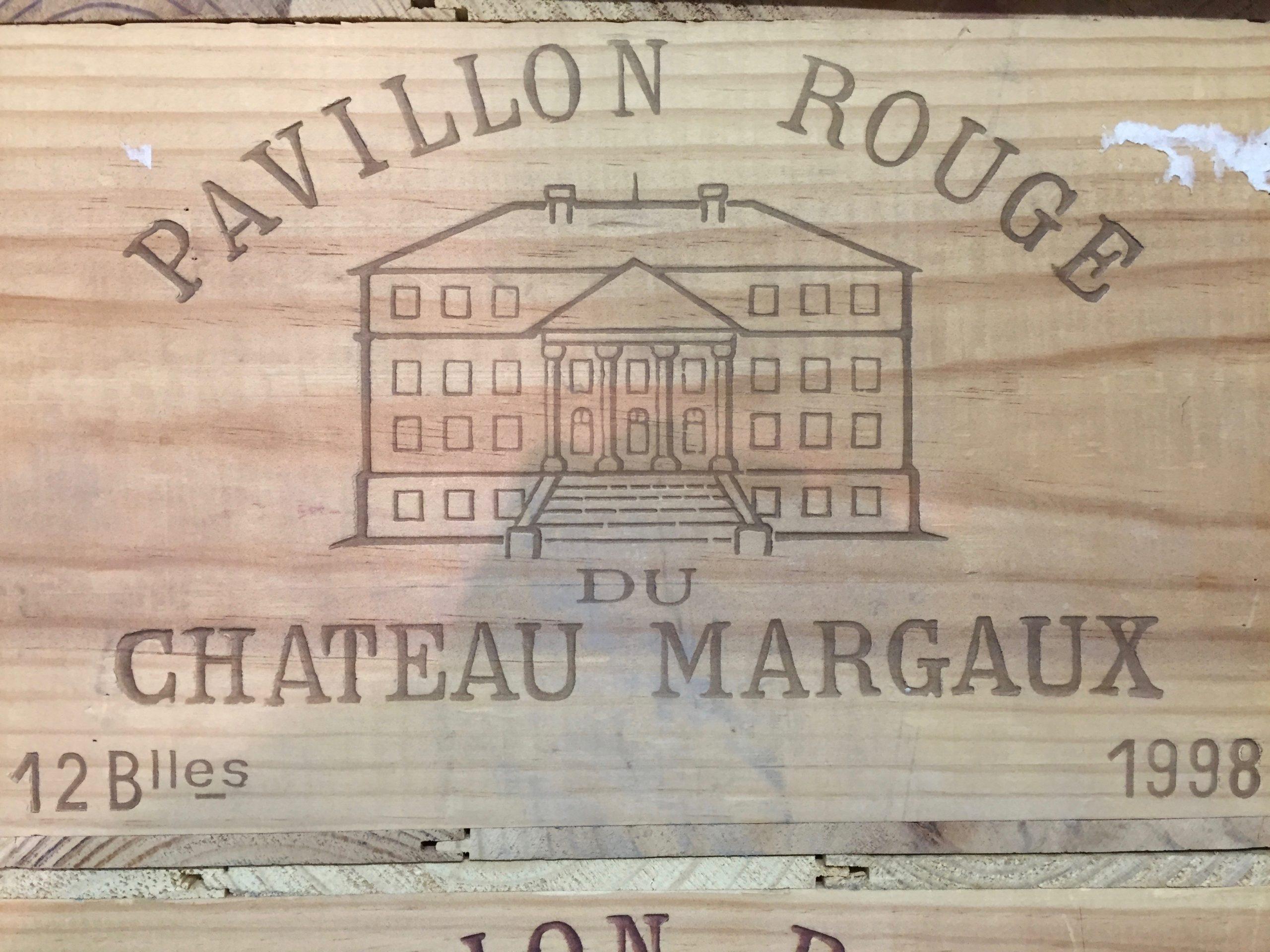 Château Margaux Pavillon rouge 1998 (CBO 12)