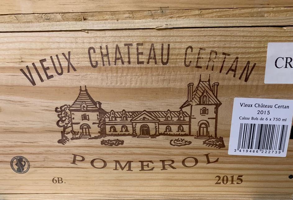 Vieux Château Certan 2015 (CBO 6)