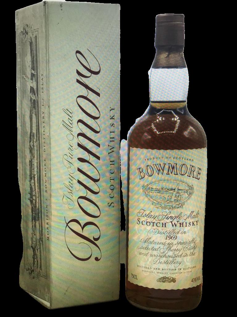 Whisky BOWMORE single malt 1969