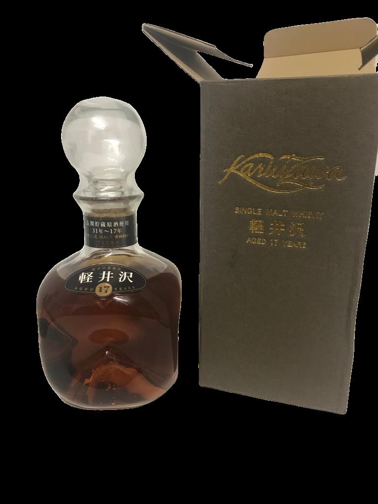 Whisky KARUIZAWA 17 years single Malt