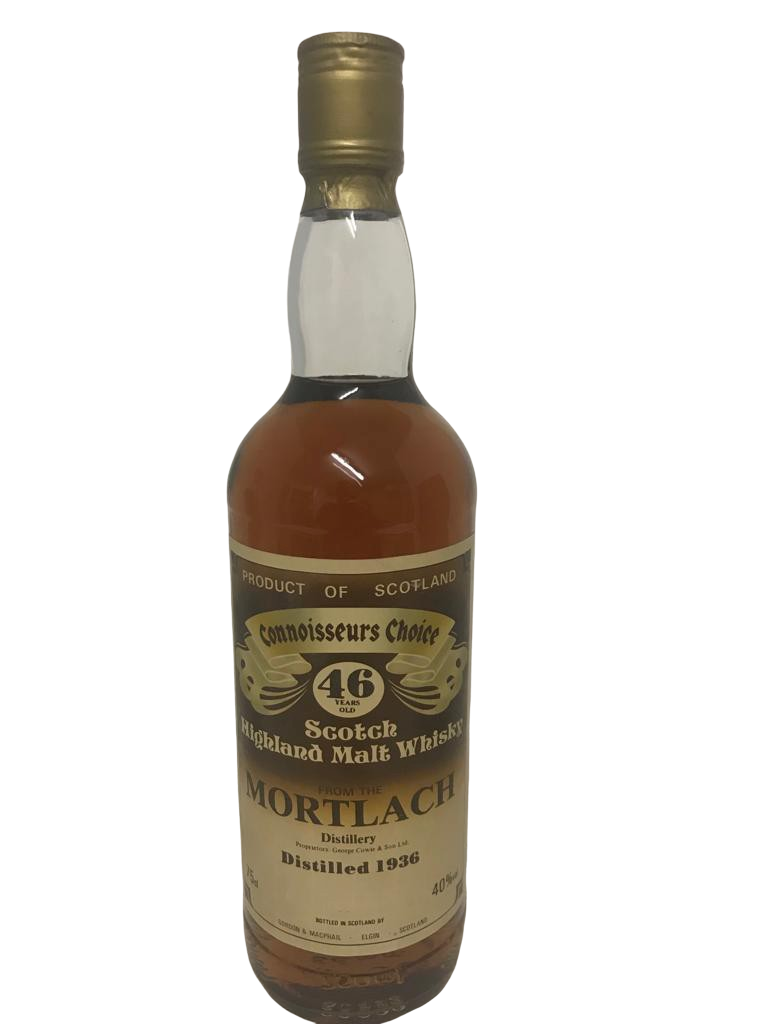 Whisky MORTLACH 46 years connoisseurs choice distilled 1936
