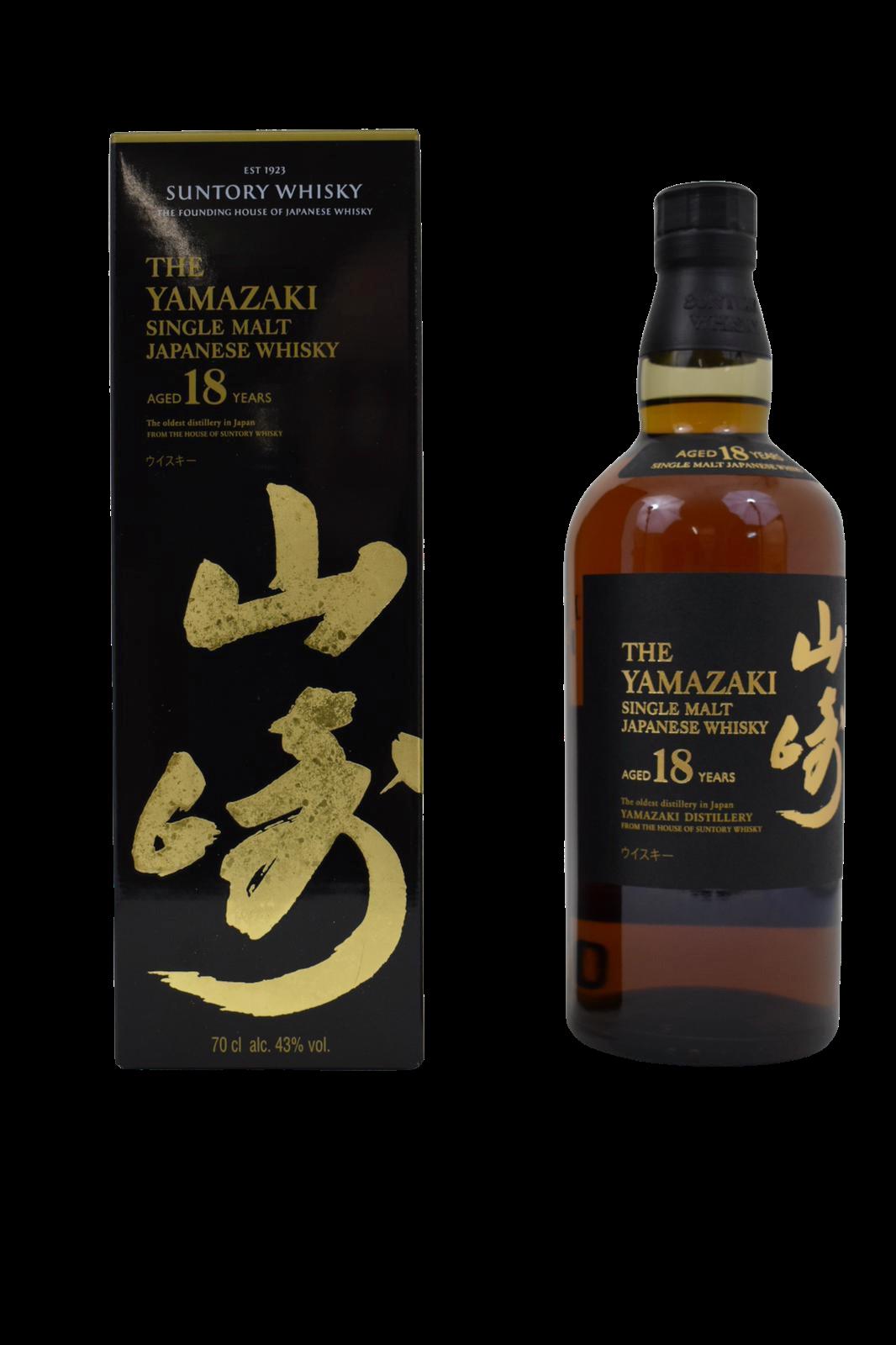Whisky YAMAZAKI Single Malt aged 18 years