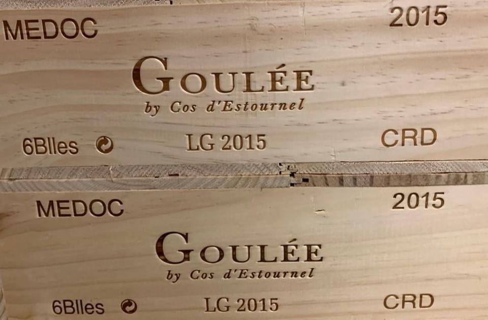 Goulée by Cos D'Estournel 2015 (CBO 6)