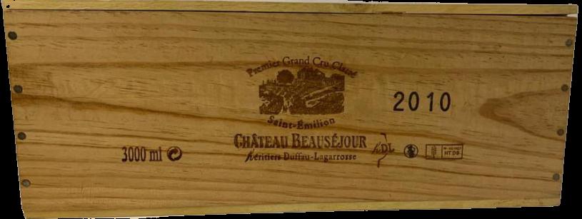 Château Beauséjour Duffau Lagarrosse 2010 (Double-Magnum)
