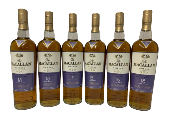 Whisky MACALLAN Single Highland – Fine Oak -Triple cask matured -18 years old