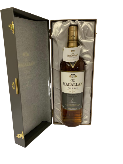Whisky MACALLAN Single Highland – Fine Oak -Triple cask matured – 21 years old