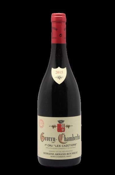 Domaine Armand Rousseau – Gevrey-Chambertin 1er Cru – Les Cazetiers 2015 (Carton de 6)