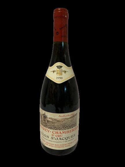 Domaine Armand Rousseau – Gevrey-Chambertin Clos Saint Jacques 1990
