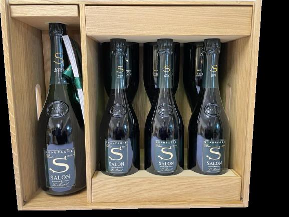 Champagne Salon Caisse Oenothèque 2008 [2X75 2004 / 2×75 2006 / 2X 75 2007 / 1 magnum]