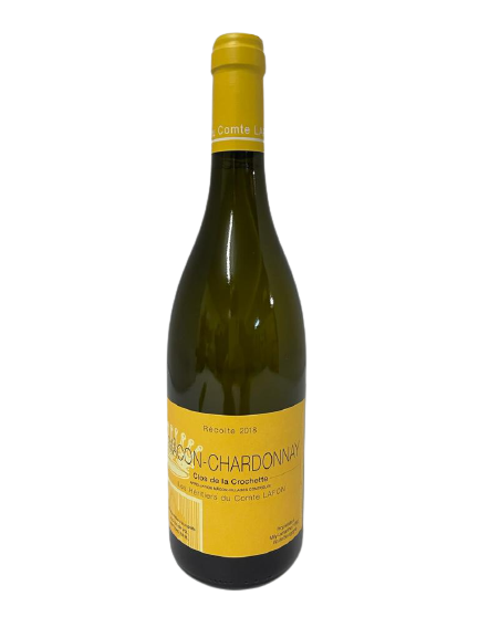 Les Héritiers du Comte LAFON – Mâcon-Chardonnay Clos de la Crochette 2018 (carton de 12)